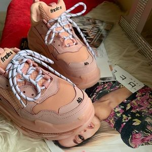 Balenciaga custom sneakers